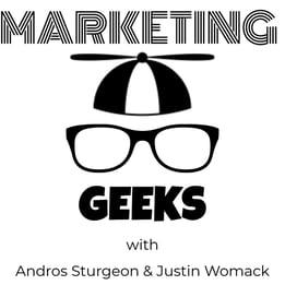 Marketing Geeks Podcast Artwork