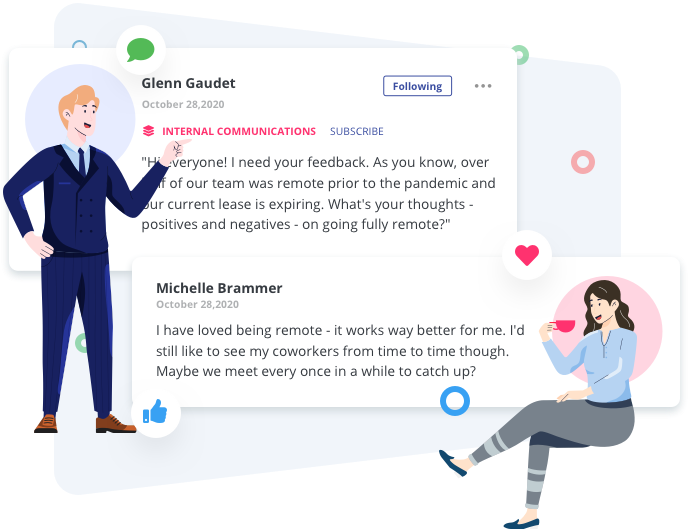 Feedback From Employees With Employee Advocacy