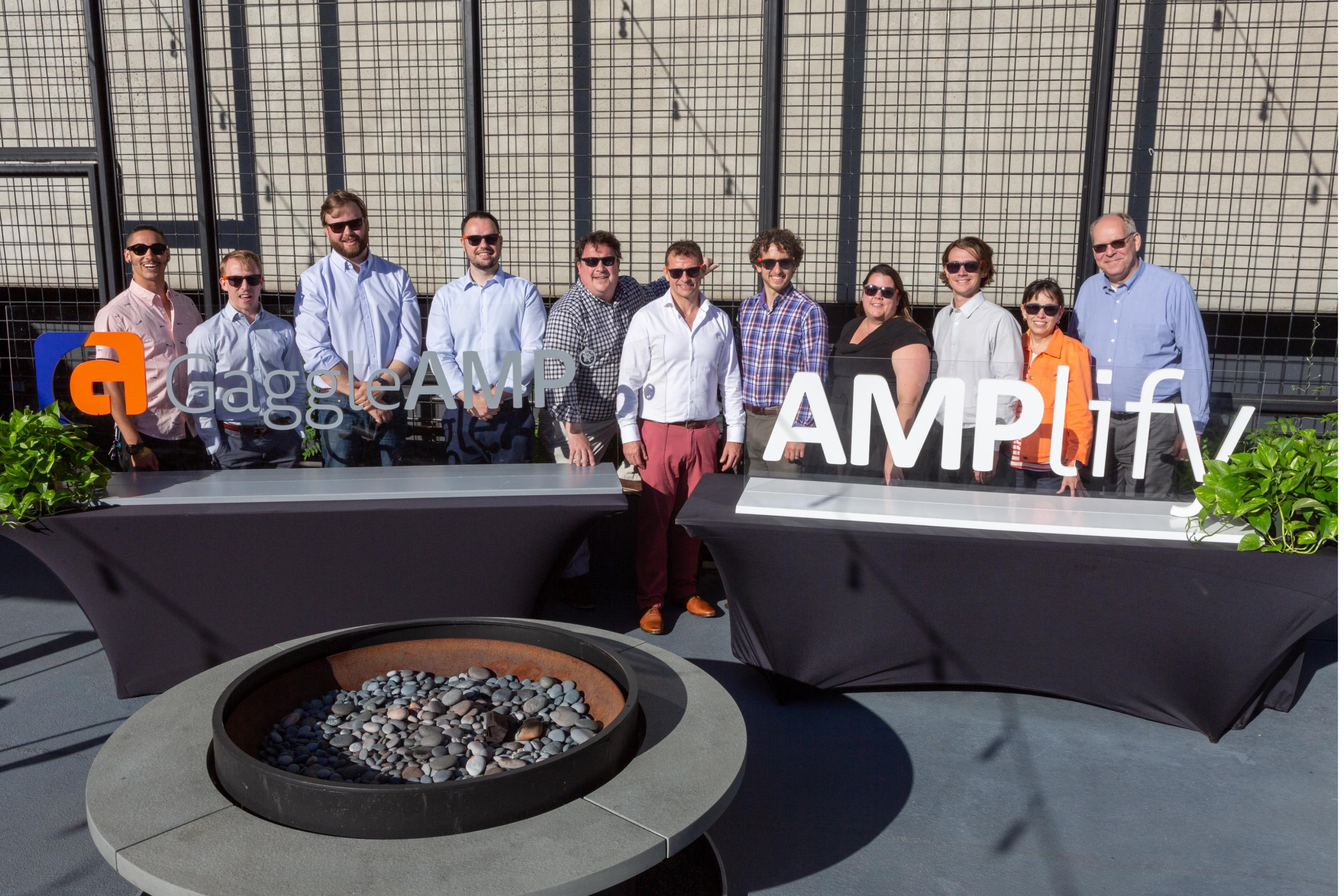 AMPlify Virtual 2019 GaggleAMP Team Photo