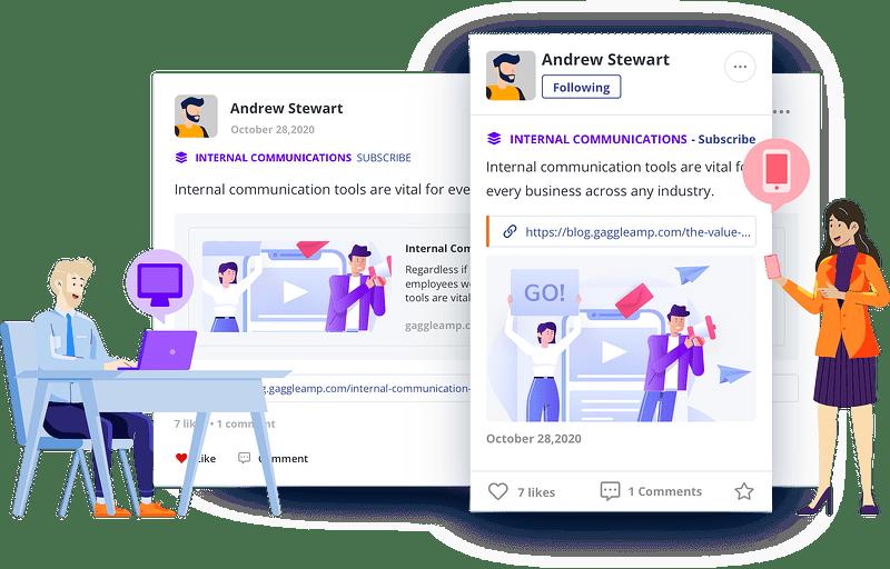 GaggleAMP Internal Communications