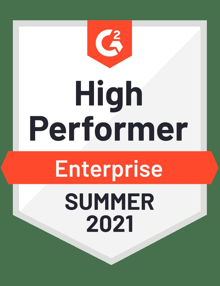 High Performer Enterprise - Fall 2021