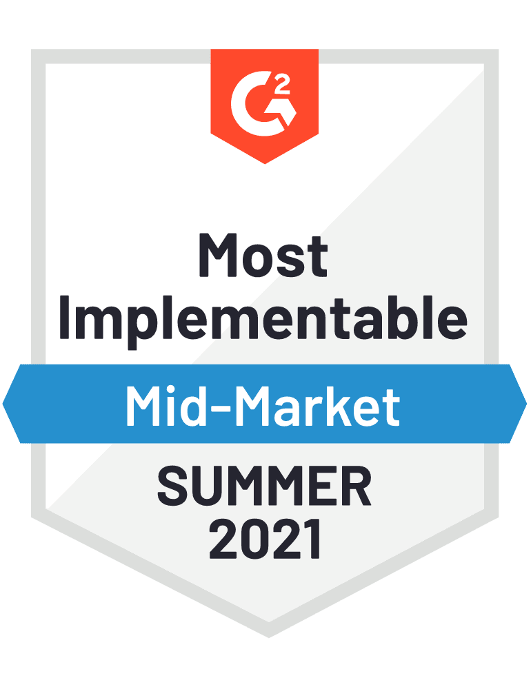 Most Implementable - Mid-Market - Fall 2021