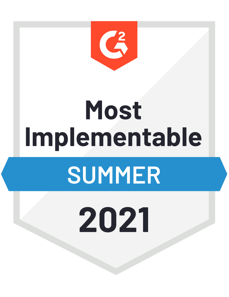 Most Implementable - Summer 2021